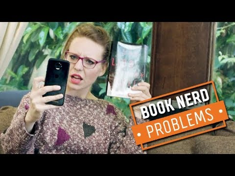 Taking a Photo of a Glossy Book   Book Nerd Problems