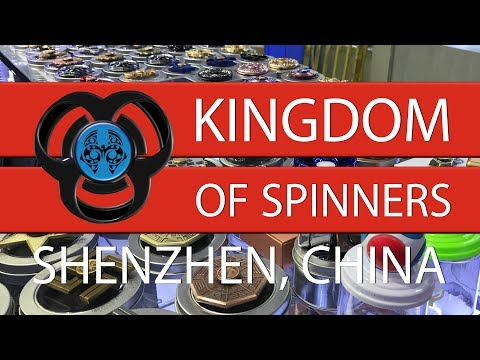 Quick tour to the Kingdom of Spinners, Shenzhen, China.