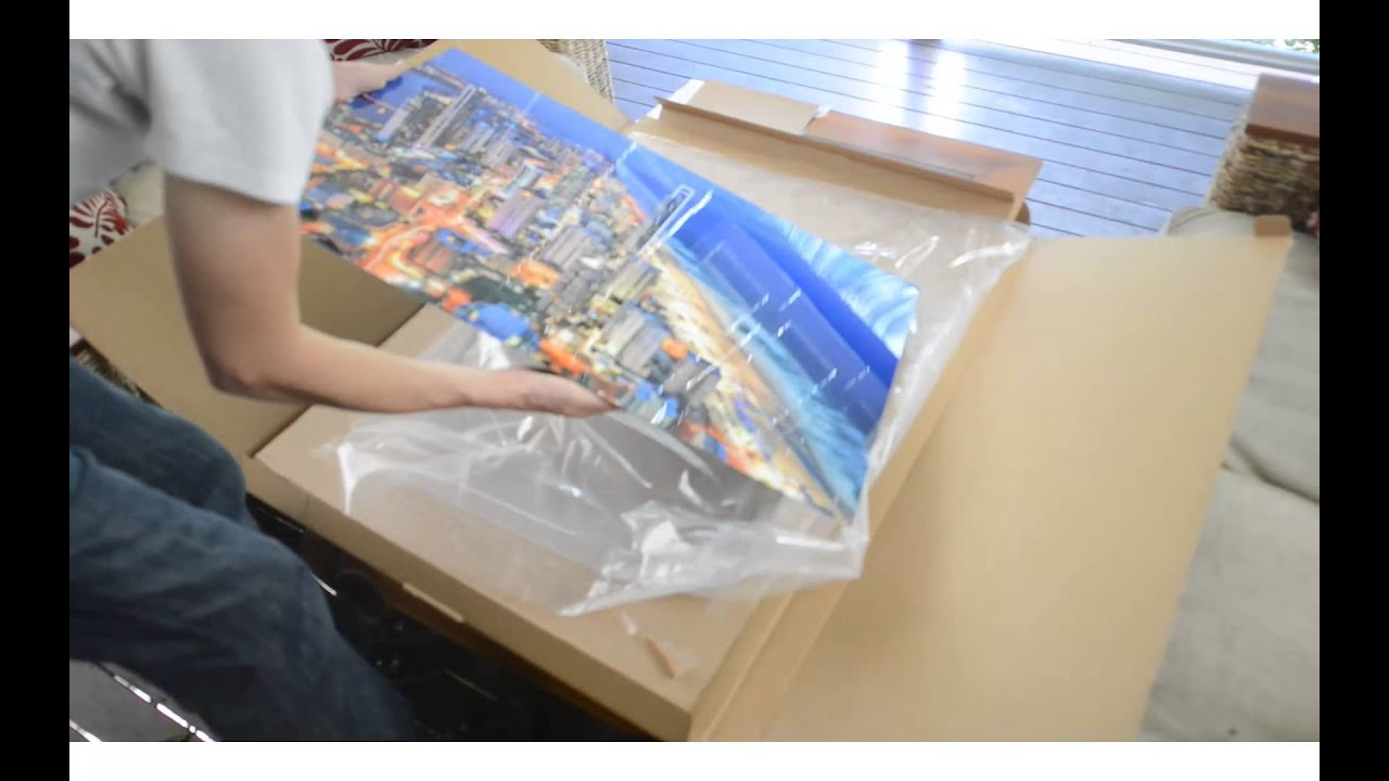 Unboxing 24x36in metal print tour of my photography shop