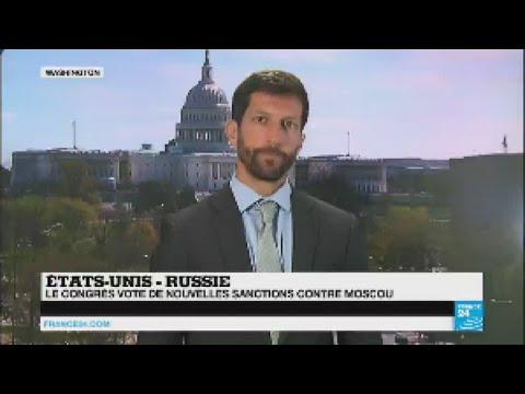 Bruxelles, Paris et Moscou dénoncent les nouvelles sanctions américaines contre la Russie