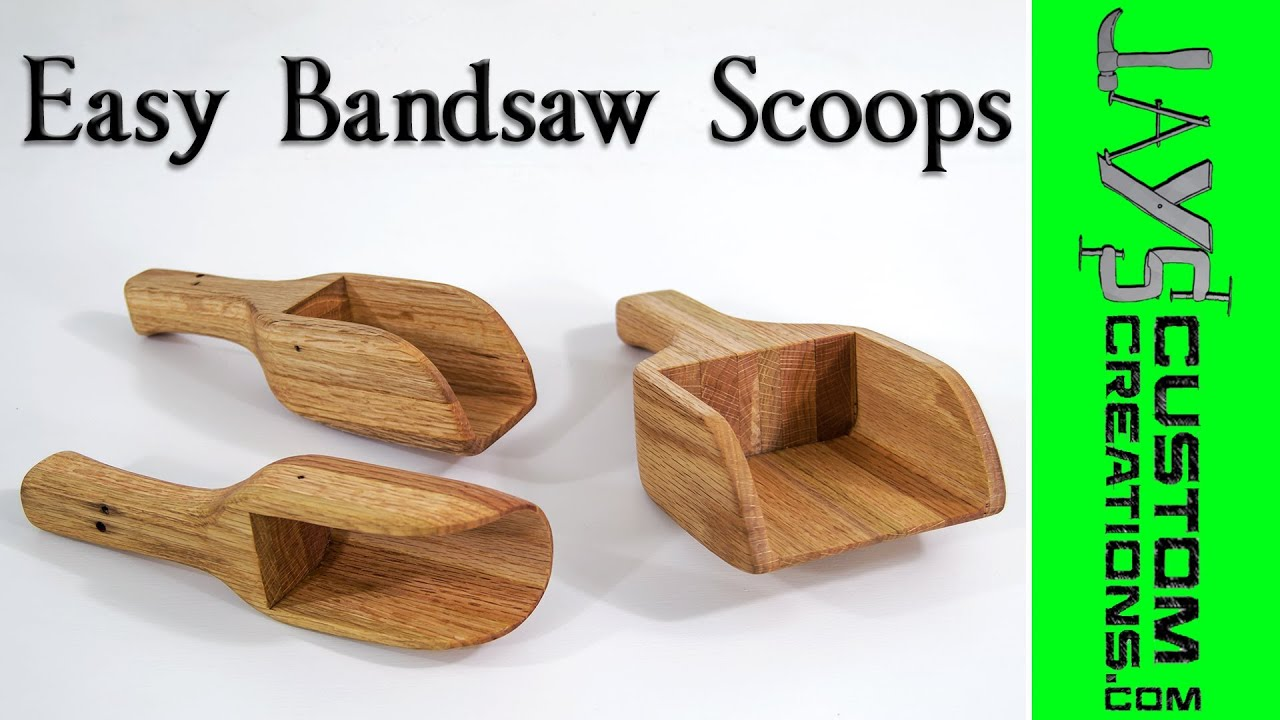Easy Bandsaw Scoops - 146 - YouTube