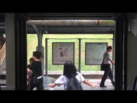 [SMRT]MAN A95 Double Decker Demo SMB5888H Door Closing