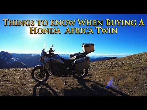 Things To Know When Buying A Honda Africa Twin CRF1000L
