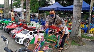 Naik Becak - Lagu Anak Indonesia Populer - Radit  Bawa Becaknya 😱