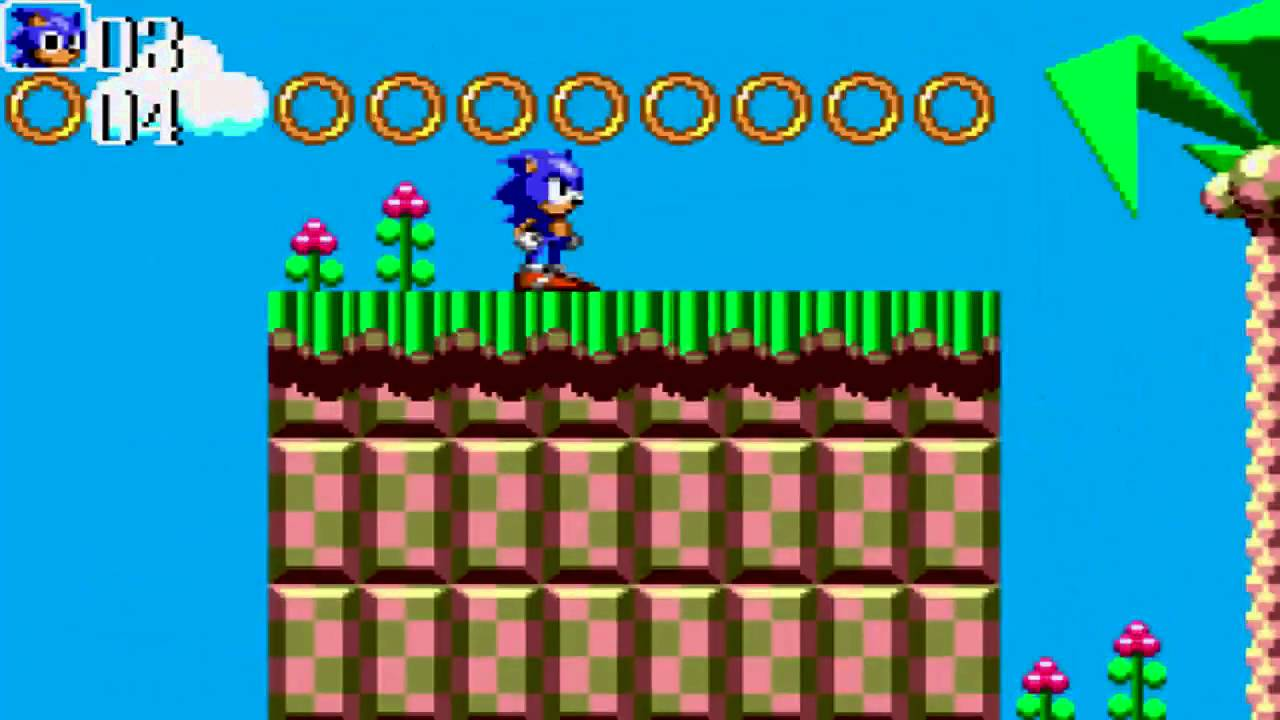 Sonic Chaos Review For The Sega Master System - YouTube
