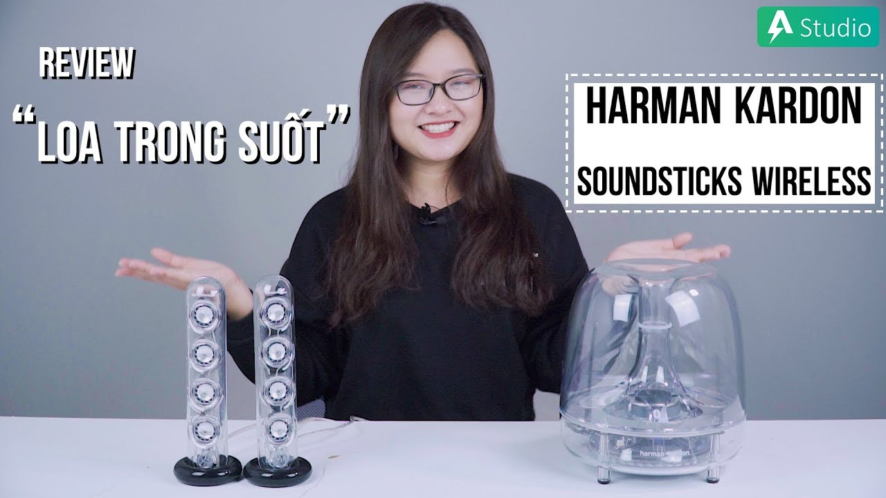 "Loa Harman Kardon Soundsticks Wireless ""chất"" quên lối về"