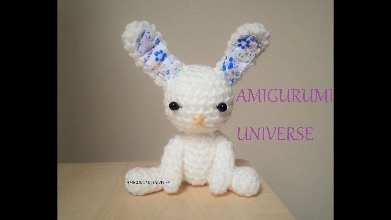 Tutorial Conejito fácil ganchillo. Amigurumi. Cute Bunny Crochet ...