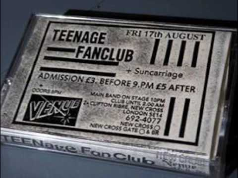 Teenage Fanclub at The Venue, New Cross, 17th August 1990