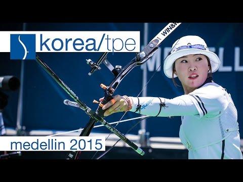 Korea v Chinese Taipei – Recurve Women's Team Gold Final | Medellin 2015
