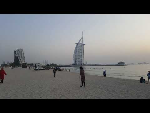 Burj al Arab Dubai, World most luxurious 7 star hotel from Back & Umm Suqeim Beach 2018