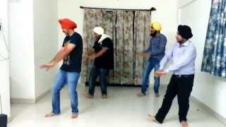jhoomar on Vanjhali waja- Amrinder Gill (Angrej Movie)