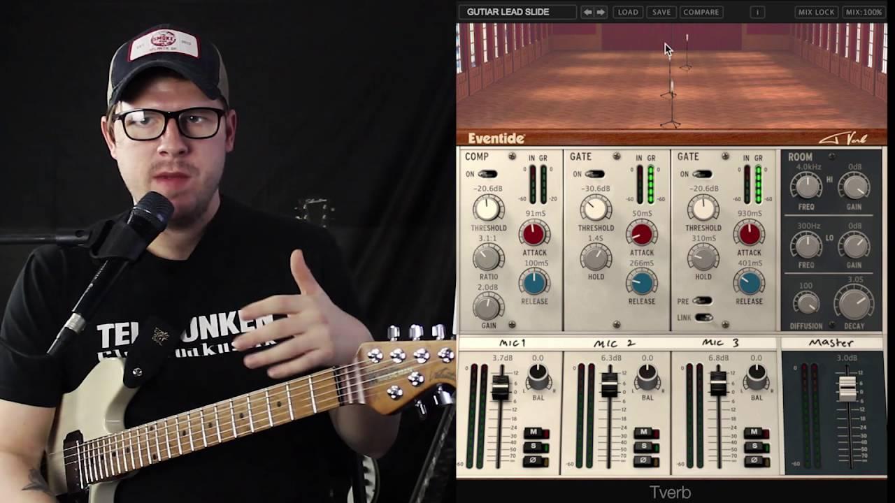 Eventide Tverb Plugin For Electric Guitar Lance Seymour Gear Talk