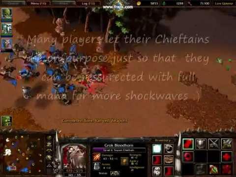 Warcraft 3 Frozen Throne all hero ultimate spells (level 6 spells)