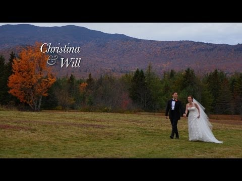 Christina & Will's Lake Placid Wedding Video