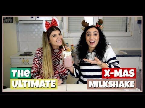 Φτιάξαμε το απόλυτο Χριστουγεννιάτικο Milkshake || fraoules22