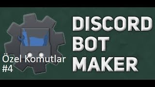 Basit Ping Komutu | Discord Bot Maker Özel Komutlar Komutları #4