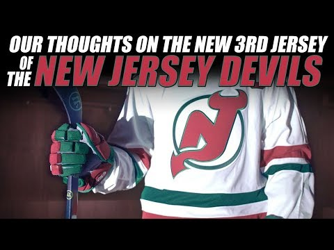 huge discount ca42b b169a Our Thoughts on the New Jersey Devils New 3rd Jersey - YouTube