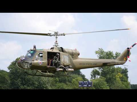 049 Huey Gunship Startup at 2018 Fort Fest Fort Jennings Ohio