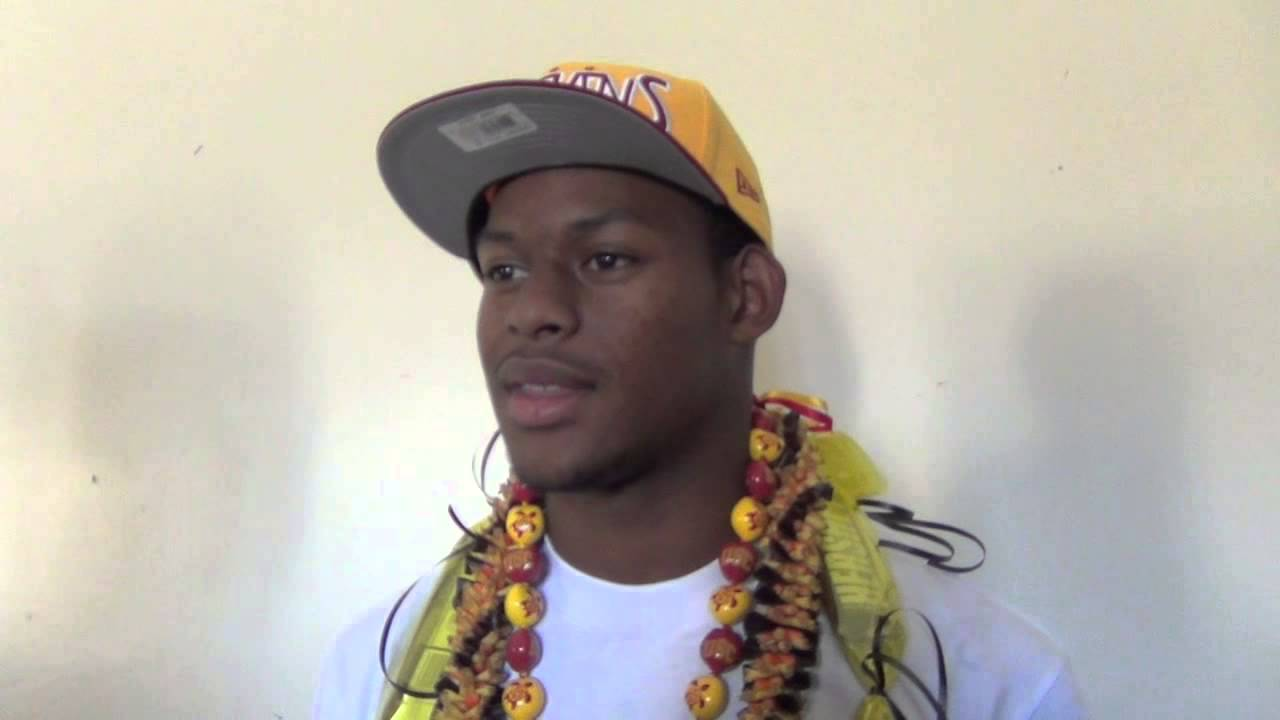 "Juju Smith Schuster >> John ""JuJu"" Smith USC Signing Day Announcement - YouTube"