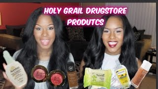 Holy Grail Drugstore Products Thumbnail