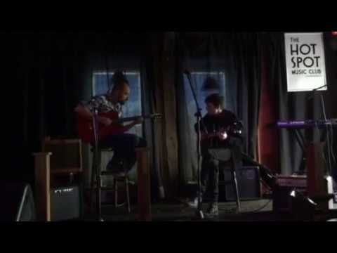 Chris and Johnny Guitar Duo - Blues at the Hotspot