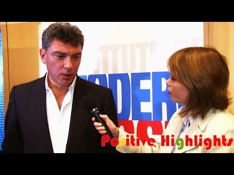 Julia Interviews Boris Nemtsov in New York (Nov. 2010)