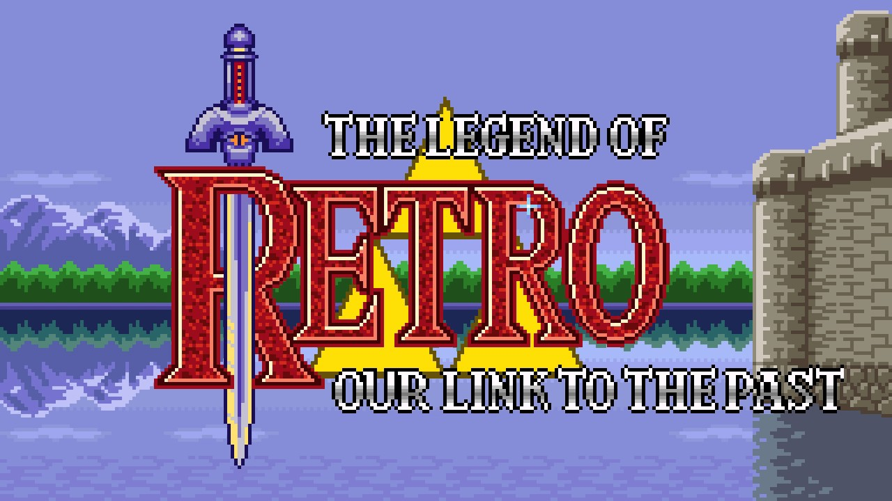 RetroPie Splash Screen Link To The Past YouTube