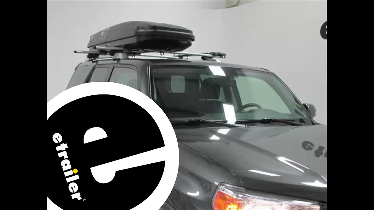 Review Of The Thule Pulse Alpine Roof Cargo Box Etrailer Com Youtube