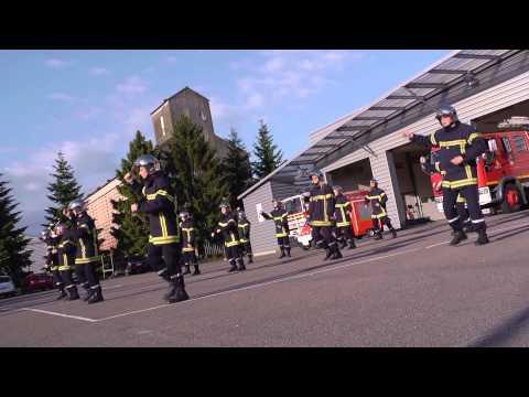 Flash mob | Pompiers de Nuits-Saint-Georges