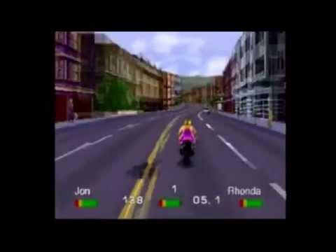 (PS1) Road Rash Level 4