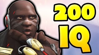 This Is What 200 IQ Punch Looks Like!! - Overwatch Doomfist Montage