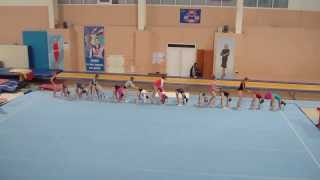 Отдых на соревнованиях по спортивной гимнастике