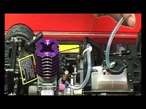 Como Arrancar Un Coche Radio Control De Gasolina Youtube