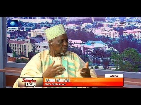 Tanko Yankasai Emphasizes The Need For Northern Nigeria To Unite |Sunrise Daily|