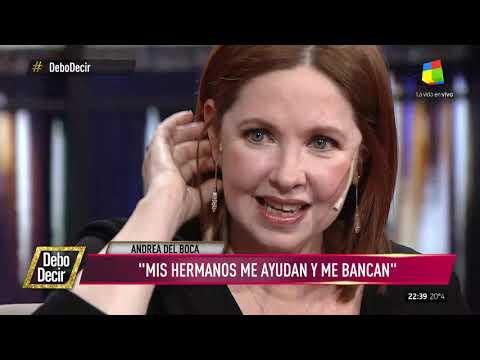 Andrea del Boca hizo su descargo por la novela Mamá Corazón: Siento impotencia