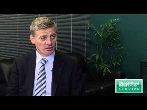 Bill English in conversation on New Zealand