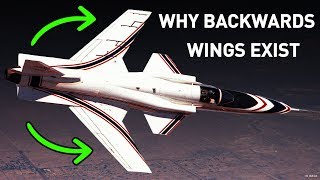 Why Some Planes Have Backwards Wings