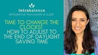 How to adjust to the time change