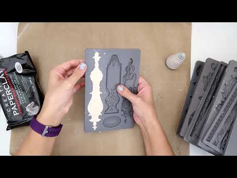 IOD moulds and paper clay