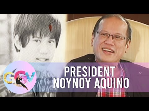 PNoy shares his early years in Ateneo