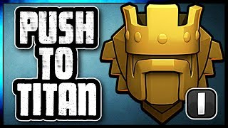 TROPHY PUSHING WITH MINERS TO TITANS | FARMING ALONG THE WAY | Clash of Clans