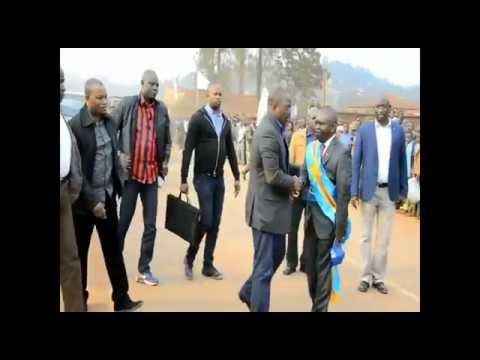 Accueil triomphal de Joseph Kabila Chef de l Etat à Butembo le 09 08 2016