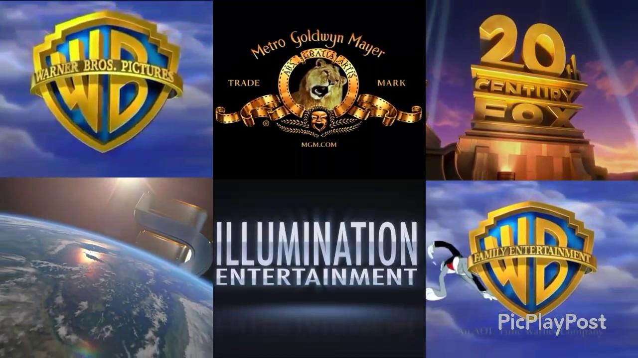 6 Movie logos - YouTube