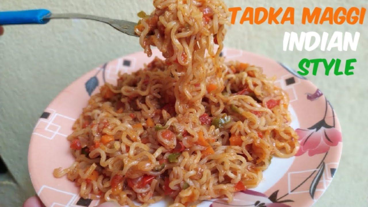 Tadka maggi | best maggi recipe | Indian style maggi recipe | easy and tasty tadka maggi recipe