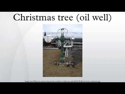 Christmas tree (oil well)
