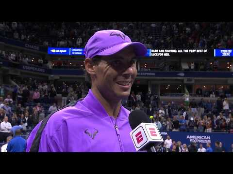 "Rafael Nadal: ""It means a lot to be back where I am!"" 