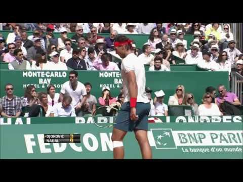 Djokovic vs Nadal Montecarlo 2013