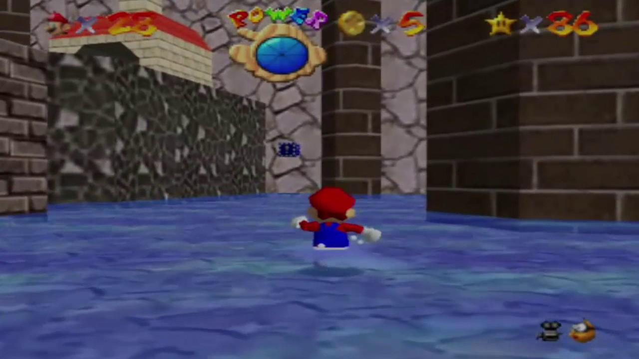 Super Mario 64 Atlantis Aquaria Finde Die 8 Roten Münzen Youtube