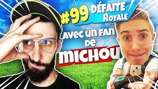 Je RENCONTRE Le PLUS GRAND FAN De MICHOU sur FORTNITE Battle Royale !