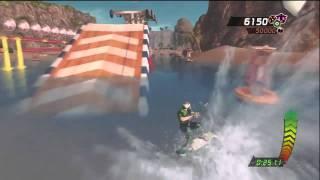 MotionSports Adrenaline Kite Surfing Gameplay Video (Xbox 360)